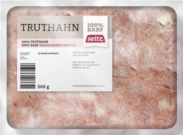Truthahnfleisch, gewolft, (Frost)
