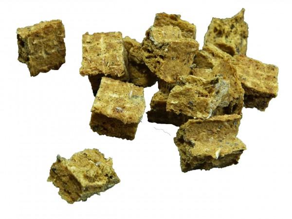 Cubes Flunder Fleischstücke