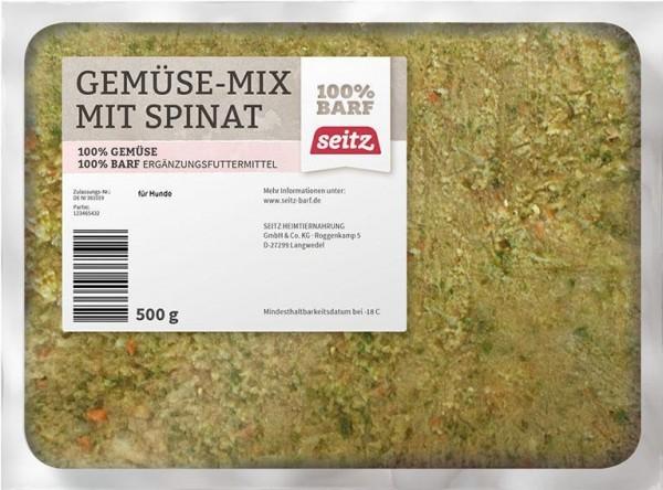 Gemüse-Mix Spinat, (Frost)
