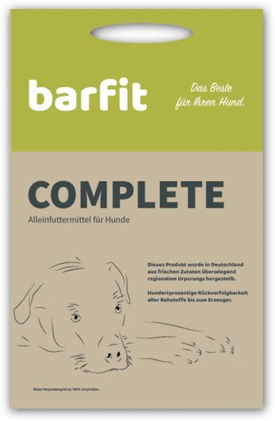 barfit complete Trockenbarf Ente 1000 Gramm