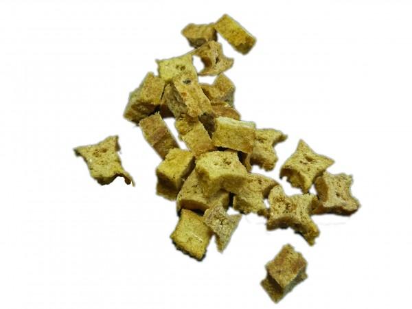 Cubes Hering Fleischstücke