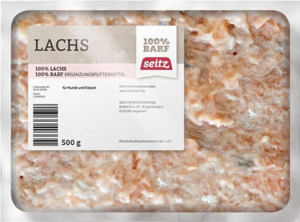 Lachsbauch, gewolft, (Frost)